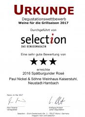 2016er Spätburgunder Rosé
