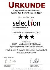 2016er Spätburgunder Weißherbst trocken