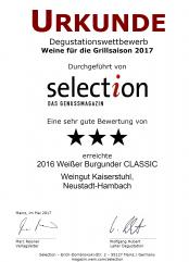 2016er Weißer Burgunder CLASSIC