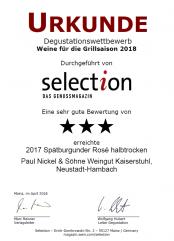 2017er Spätburgunder Rosé