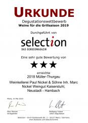 2018er Müller-Thurgau