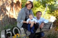 drei Generationen - Eva, Marc und Paul